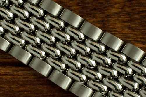 Vintage Omega Beads of Rice Bracelet
