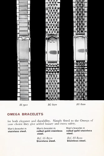Omega Beads of Rice Ad 1960's