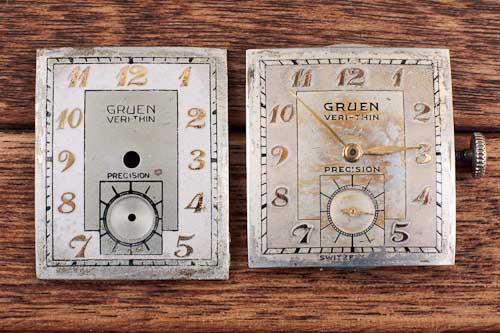 Gruen 430 and  440 Curvex