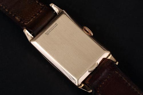 Gruen 400 with Wadsworth 10k GF over Sterling case back.