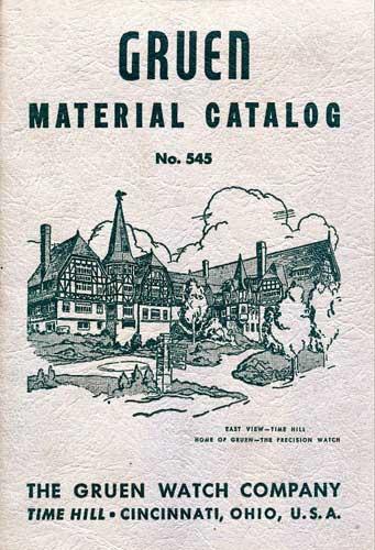 Gruen material Catalog