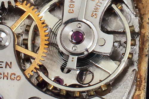 Breguet hairspring