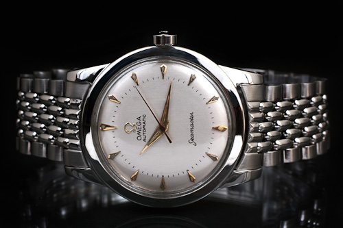 Omega Seamaster cal 354 with beads of Rice bracelet