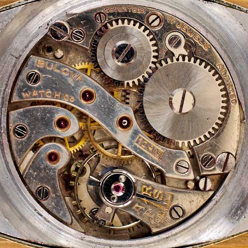 1930 Bulova 10AN Movement