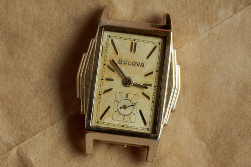 Bulova Step side case using the 10AN movement