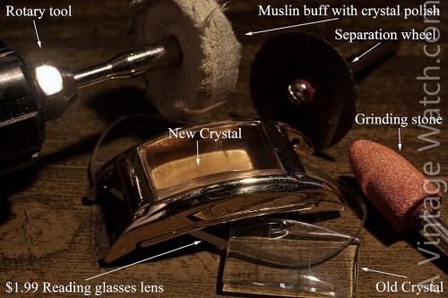DIY Watch Crystal kit