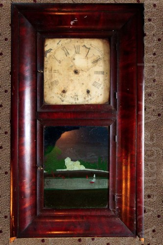 Chauncy Jerome 8 Day Shelf clock